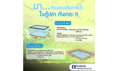 วิธีคำนวณน้ำ